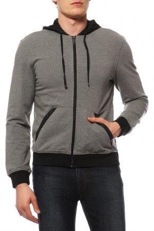 Куртка спортивная Lab.PAL ZILERI. Цвет: серый