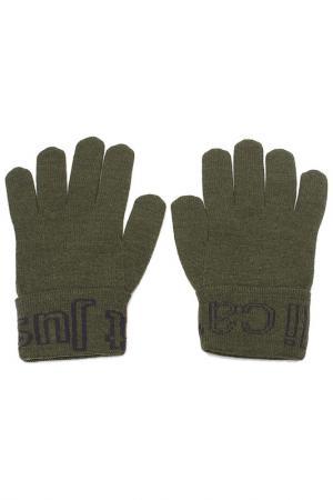 Перчатки Just Cavalli. Цвет: 823 зеленый