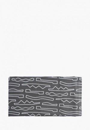 Штора для ванной Tkano Objects. Цвет: серый