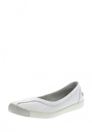 Туфли Flylondon MP002XW0DR21. Цвет: белый