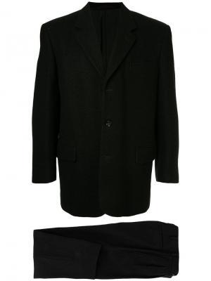 Структурированный костюм-двойка Comme Des Garçons Vintage. Цвет: черный