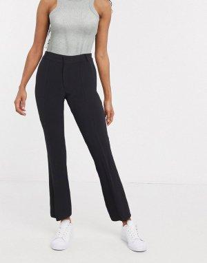 Черные брюки с разрезами InWear-Черный цвет In Wear