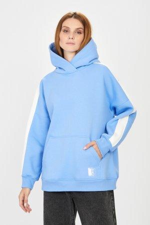 Толстовка baon. Цвет: голубой