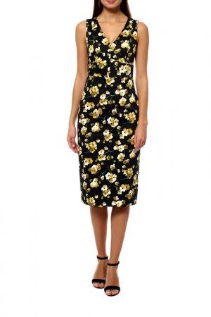 Платье MAXMARA STUDIO. Цвет: мультицвет