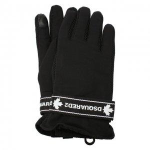 Перчатки Dsquared2. Цвет: чёрный