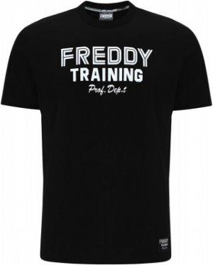 Футболка мужская , размер 50-52 Freddy. Цвет: черный