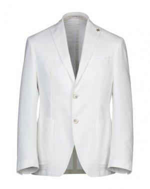 Пиджак GIACCHE'. Цвет: белый