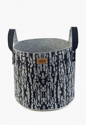 Органайзер для хранения Eva 34х34 см. Цвет: серый