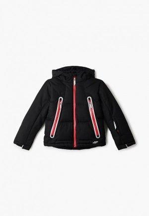 Куртка горнолыжная 4F. Цвет: черный