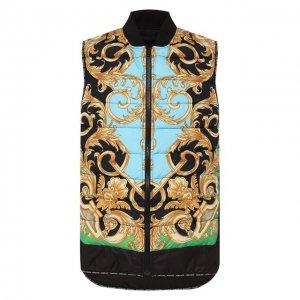 Жилет Versace. Цвет: разноцветный