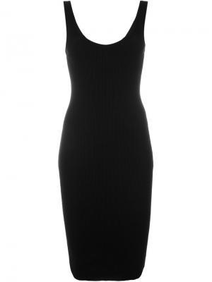 Платье-майка Givenchy. Цвет: чёрный