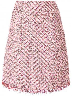 Твидовая юбка миди прямого кроя Giambattista Valli