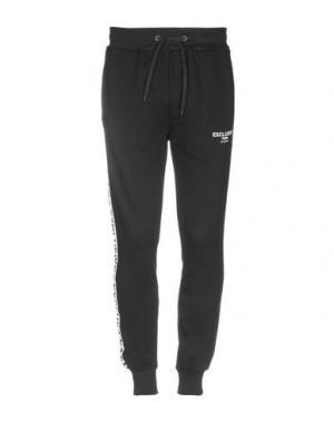 Повседневные брюки EXCLUSIVE. Цвет: черный