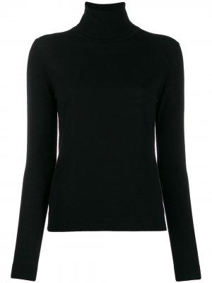 Turtleneck fine knit jumper Aspesi. Цвет: черный