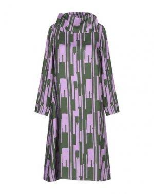 Короткое платье BINI Como. Цвет: светло-фиолетовый