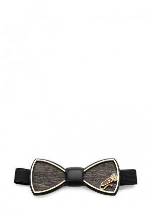 Бабочка Blackbow. Цвет: черный