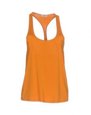 Майка CYCLE. Цвет: оранжевый