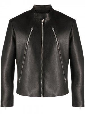 Байкерская куртка Maison Margiela. Цвет: черный