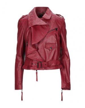 Куртка MANILA GRACE. Цвет: красно-коричневый