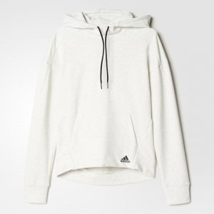 Худи Mélange Athletics adidas. Цвет: белый