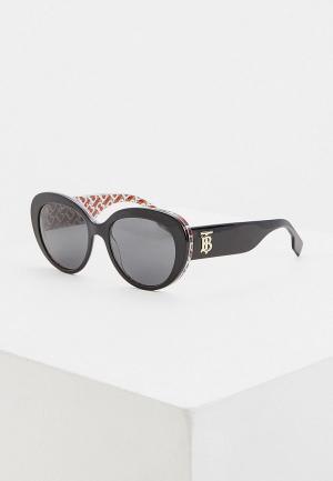 Очки солнцезащитные Burberry 0BE4298 382287. Цвет: черный