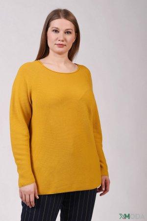 Пуловер Via Appia. Цвет: жёлтый