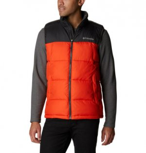 Жилет утепленный мужской Pike Lake™, размер 56 Columbia. Цвет: оранжевый