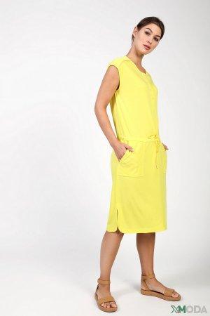 Платье Via Appia. Цвет: жёлтый