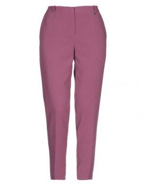 Повседневные брюки ANNARITA N. Цвет: пастельно-розовый