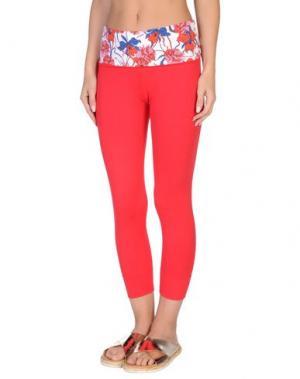 Пляжные брюки и шорты VDP COLLECTION. Цвет: красный