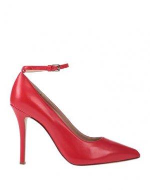 Туфли KALLISTÈ. Цвет: красный