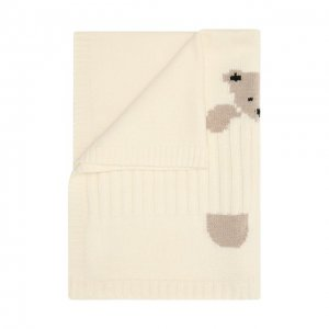 Шерстяное одеяло Baby T. Цвет: белый