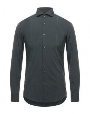 Pубашка BOSS HUGO. Цвет: стальной серый