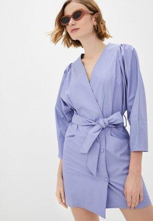 Платье Imperial. Цвет: голубой