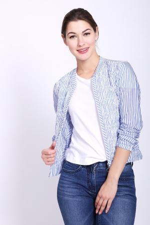 Жакет SE Stenau. Цвет: голубой