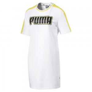 Платье Rebel Reload Dress PUMA. Цвет: белый