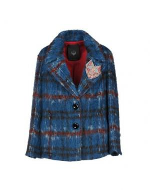 Пальто FRANKIE MORELLO. Цвет: синий