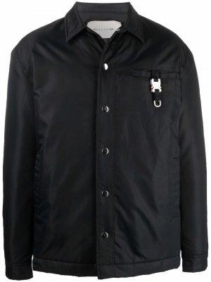 Куртка-рубашка с пряжкой Rollercoaster 1017 ALYX 9SM. Цвет: черный