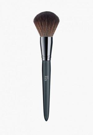 Кисть для лица Make Up Factory Powder Brush. Цвет: черный
