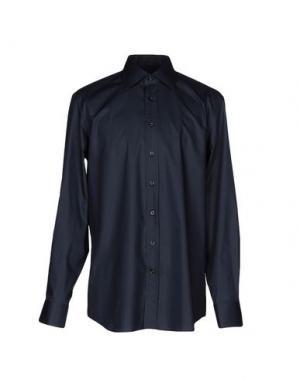 Pубашка BALDESSARINI. Цвет: темно-синий