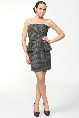 Платье Anna Rita N. Цвет: серый