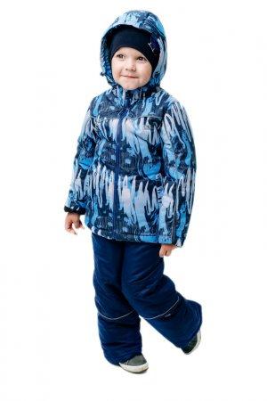 Куртка GERDAKAY. Цвет: синий