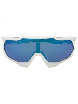 Солнцезащитные очки SpeedTrap 100% Eyewear. Цвет: белый