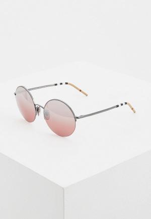 Очки солнцезащитные Burberry BE3101 10577E. Цвет: черный