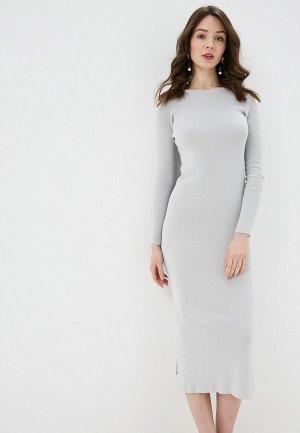 Платье EMI. Цвет: серый