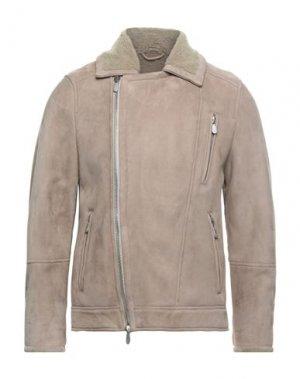 Куртка ELEVENTY. Цвет: голубиный серый