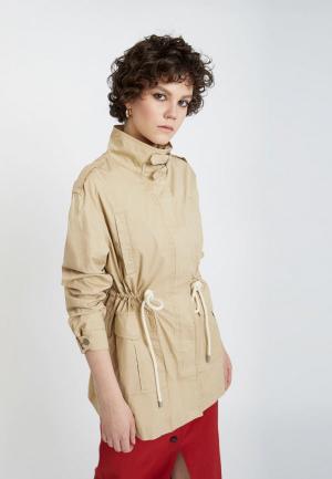 Куртка Lime. Цвет: бежевый