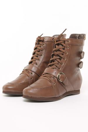Ботинки CRISTOFOLI. Цвет: коричневый