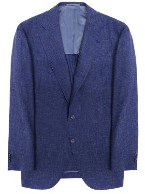 Пиджак из шерсти и льна ATTOLINI