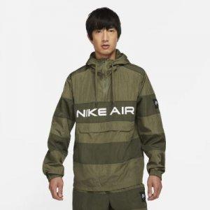 Мужской анорак без подкладки Nike Air - Коричневый